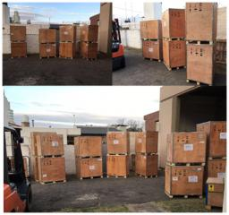 Argentina Customer has received our machines