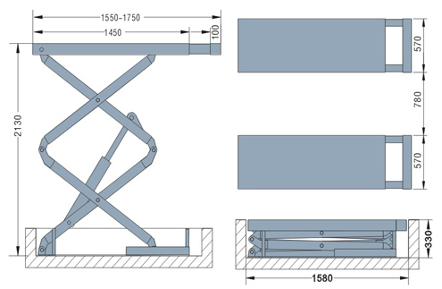 Scissor Lift Design Drawings